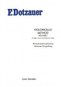 Método Violoncelo F. Dotzauer - Vol 1