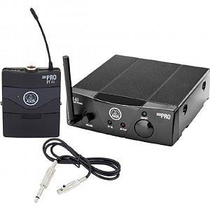Microfone de Cabeça Sem Fio AKG UHF WMS 40PT