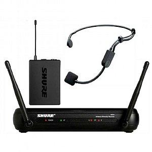 Microfone de Cabeça Sem Fio Shure SVX14BR/PGA31