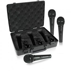 Microfone de Mão Behringer XM1800S (Kit com 3 unids)
