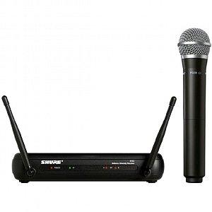 Microfone sem Fio de Mão Shure UHF SVX24BR / PG58