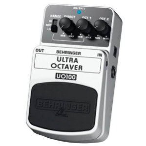 Pedal para Baixo / Guitarra Behringer Ultra Octaver UO100