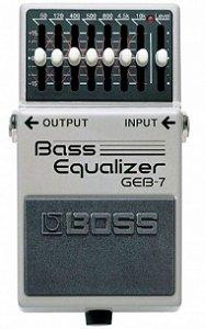 Pedal para Contrabaixo Boss Bass Equalizer GEB-7