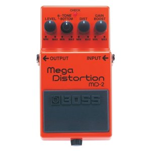 Pedal para Guitarra Boss Mega Distortion MD2