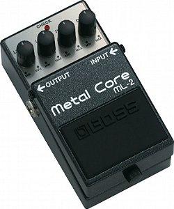 Pedal para Guitarra Boss Metal Core ML-2