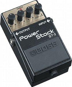 Pedal para Guitarra Boss Power Strack ST-2
