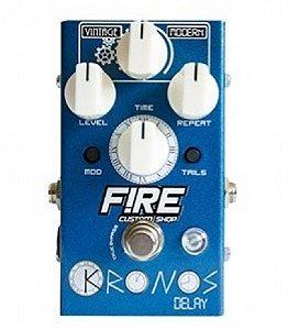 Pedal para Guitarra Fire Kronos Delay