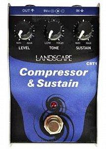 Pedal para Guitarra Landscape Compressor & Sustain CST1