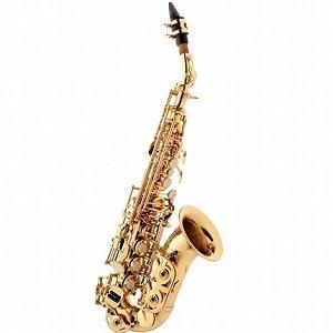 Saxofone Soprano Curvo Eagle SP 508