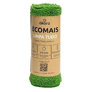 Pano Limpa Tudo Ecomais - Verde Claro