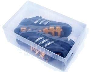 Caixa de Sapato Transparente -  Masculino e Tênis
