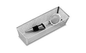 Cesto Organizador Brinox 23 x 8 x 5 cm Cinza