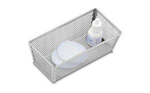 Cesto Organizador Brinox Organize 15 x 8 x 5 cm - Cinza