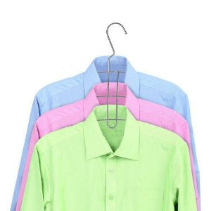Cabide Triplo para Camisa Cromado