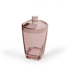 Porta Algodão  Premium - Rosa