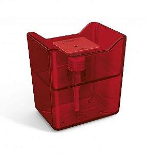 Dispenser  de Detergente Acrílico Premium - Vermelho