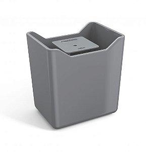 Dispenser de Detergente Premium - Cinza