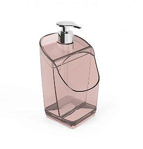 Dispenser de Detergente Acrílico - Rosa