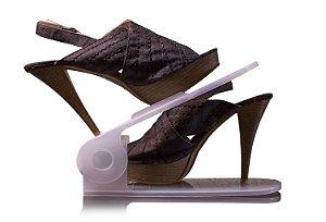 Organizador de Sapatos Regulável - Branco