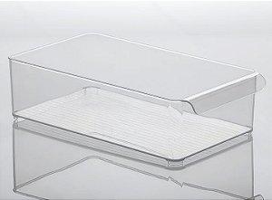 Organizador de Geladeira Diamond 37,5x21x10,5cm