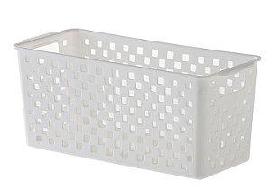 Cesto Organizador Quadratta 27x12x12 Branco