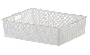 Cesto Organizador Quadratta 34x27x9 Branco