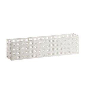 Organizador Empilhável Quadratta 32 X 11,5X 8 cm Branco