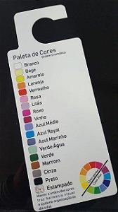 kit com 5 Paletas de Cores