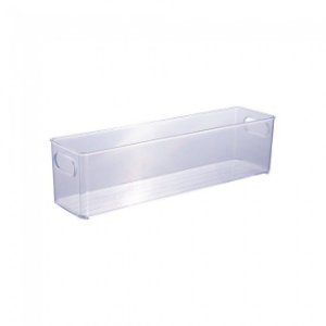 Organizador Multiuso Transparente - 40 x 10x 10,4cm