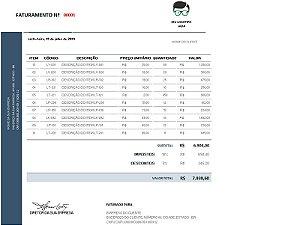 Gerador de Fatura / Orçamento | Modelo 01
