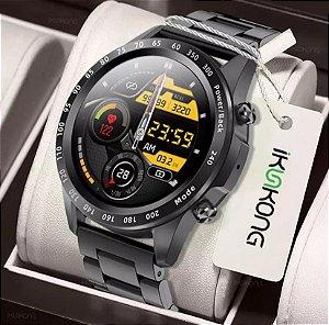 2021 homens relógio inteligente