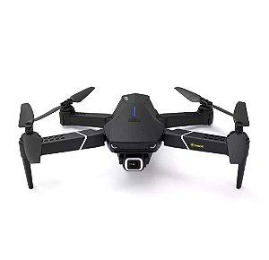 Eachine E520S GPS WI-FI FPV Com 4 K / 1080P HD Câmera 16mins Tempo de Vôo Dobrável RC Drone Quadricóptero - Preto 5G WiFi 4K HD Duas baterias Produto Importado. Envio Internacional E Frete Grátis🛩✈🛫