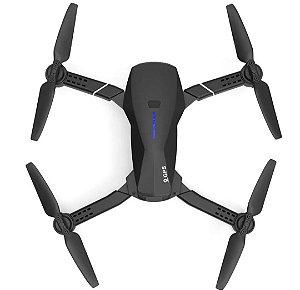Eachine E520S GPS WI-FI FPV Com 4 K / 1080P HD Câmera 16mins Tempo de Vôo Dobrável RC Drone Quadricóptero - Preto 5G WiFi 4K HD Uma bateria Produto Importado, Envio Internacional E Frete Grátis🛩✈🛫