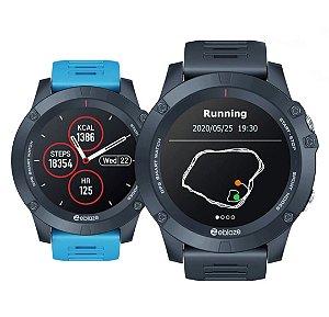 MarcaZeblaze ModeloVIBE 3 GPS Versão BluetoothBT 4.0 Pulseira Azul Envio Internacional ✈✈✈