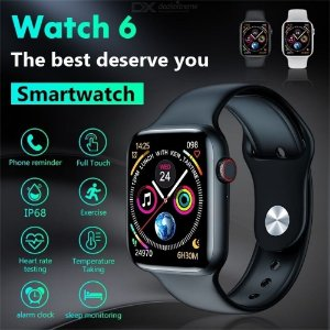 W26 smart watch Bluetooth call 1.75 inches full touch screen temperature IP68 W26 envio internacional🛫🛬