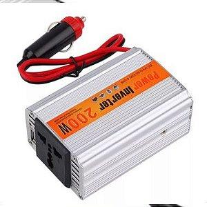 Conversor de voltagem para automóveis 12 v dc para ac 220 v