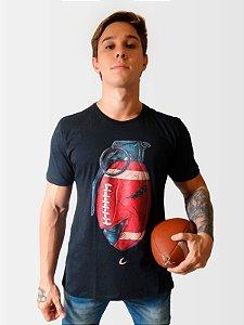 Camiseta Lineback Grenade Masculina