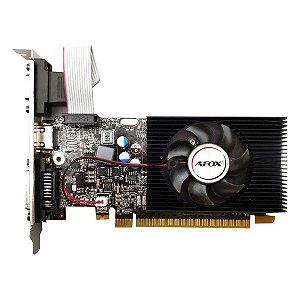 Placa de vídeo PCI-E AFOX nVIDIA GeForce GT 420 4 Gb DDR3 128 Bits Low Profile (AF420-4096D3L5)