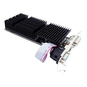Placa de vídeo PCI-E AFOX nVIDIA GeForce GT 710 2 Gb DDR3 64 Bits (AF710-2048D3L7)