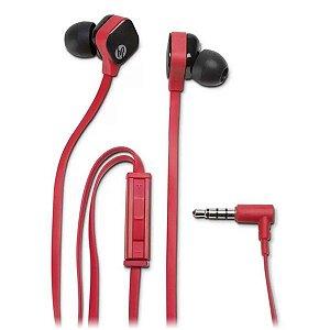 Headset intra auricular HP H2310 vermelho (J8H45AA)
