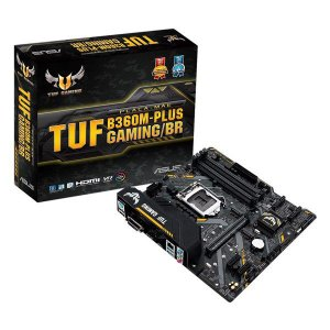Placa-mãe Asus TUF B360M Plus Gaming/BR