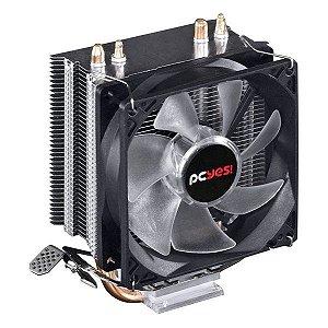 Cooler para processador PCYes Zero K Z2 led vermelho (ACZK292LDV)