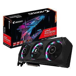 Placa de vídeo PCI-E Gigabyte Aorus AMD Radeon RX 6700 12 Gb GDDR6X 192 Bits (GV-R67XTAORUS E-12GD)