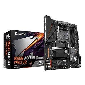 Placa-mãe Gigabyte B550 Aorus Pro V2
