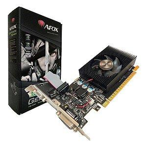 Placa de vídeo PCI-E AFOX nVIDIA GeForce GT 420 2 Gb DDR3 128 Bits Low Profile (AF420-2048D3L5)