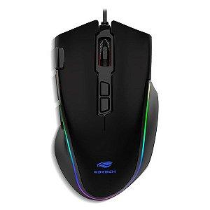 Mouse gamer USB C3Tech MG-520BK