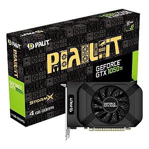 Placa de vídeo PCI-E Palit StormX nVIDIA GTX 1050TI 4 Gb GDDR5 128 Bits (NE5105T018G1-1070F)