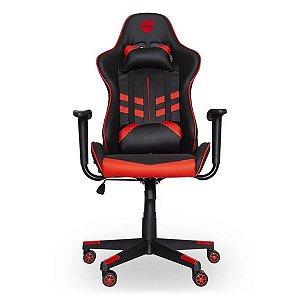 Cadeira gamer dazz Prime-X preta/vermelha (62000008)