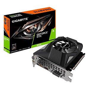 Placa de vídeo PCI-E Gigabyte nVIDIA GeForce GTX 1650 4 Gb GDDR6 128 Bits (GV-N1656OC-4GD)