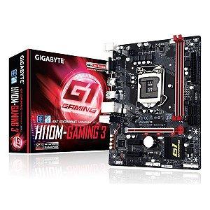 Placa-mãe Gigabyte GA-H110M-Gaming 3